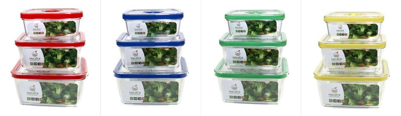 Rectangular Airtight Food Storage Container Sets